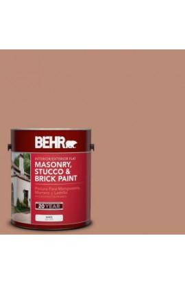 BEHR Premium 1-gal. #MS-04 Barely Dawn Flat Interior/Exterior Masonry, Stucco and Brick Paint - 27201
