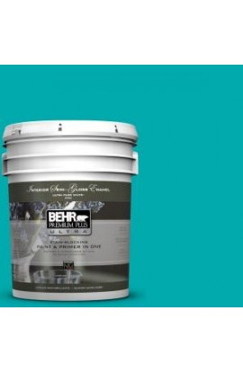 BEHR Premium Plus Ultra 5-gal. #P460-5 Fiji Semi-Gloss Enamel Interior Paint - 375405