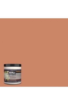 BEHR Premium Plus Ultra 8 oz. #230D-5 Aztec Brick Interior/Exterior Paint Sample - 230D-5U