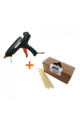 Surebonder 7/16 in. D x 10 in. L All Purpose Professional High Temperature Glue Gun with Glue Sticks (5 lb. per Box) - PRO2-80/711R510
