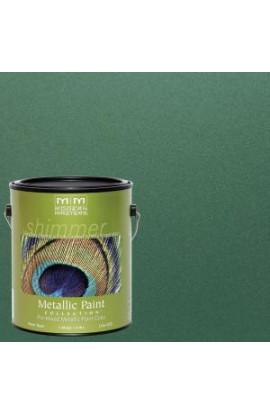 Modern Masters 1 gal. Hunter Green Metallic Interior/Exterior Paint - ME432GAL