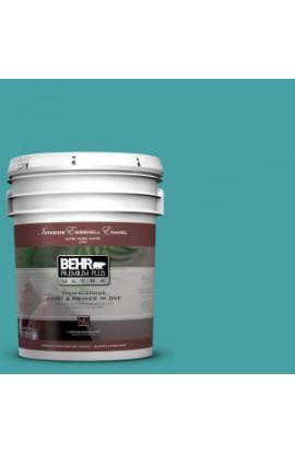 BEHR Premium Plus Ultra 5-gal. #M460-5 Aqua Fresco Eggshell Enamel Interior Paint - 275405