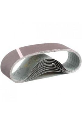 Makita 3 in. x 24 in. 120-Grit Abrasive Belt (10-Pack) - 742312-8E