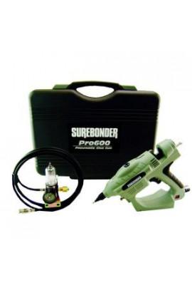 Surebonder Pneumatic 0.625 in. D x 10 in. L 450-Watt Adjustable Temperature Industrial Heater-Uses Glue Gun with Glue Sticks - PRO600