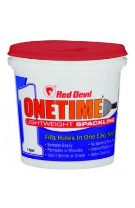 Onetime 1 qt. Lightweight Spackling - 0544HD