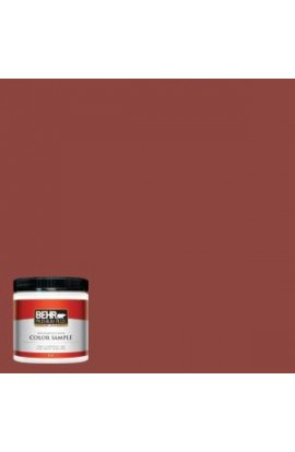 BEHR Premium Plus 8 oz. #180D-7 Roasted Pepper Interior/Exterior Paint Sample - 180D-7PP