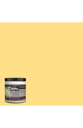 BEHR Premium Plus Ultra 8 oz. #360B-4 Sweet Chamomile Interior/Exterior Paint Sample - 360B-4U